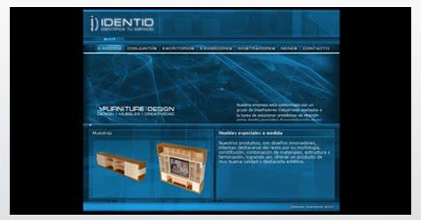 Diseño de sitio web para Identid