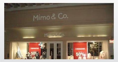 Cartelería para Mimo&Co. Río Cuarto