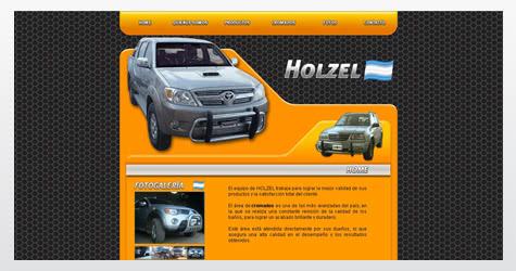 Diseño de sitio web para Holzel 4×4