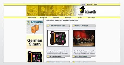 Diseño de sitio web para La Escuelita