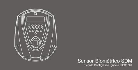 Diseño Industrial de Sensor Biométrico
