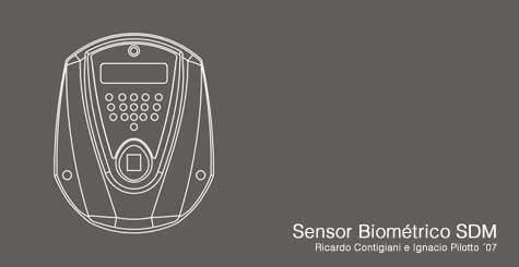 Diseño Industrial de Sensor Biométrico SDM