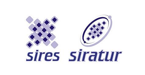 Diseño de logotipo e imagen corporativa para Sires y Siratur